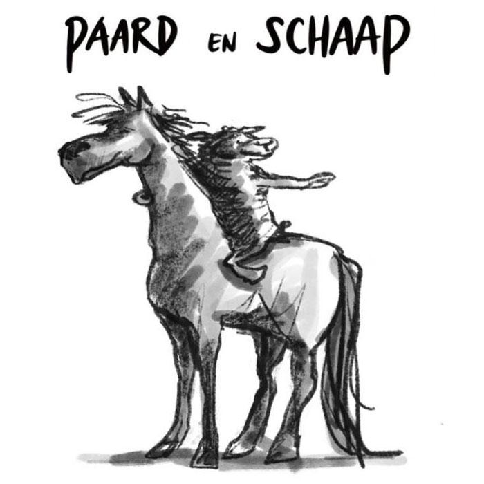 Paard en Schaap